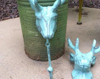 Deer Hook/ Deer Decor/Wall Hook/ Wall Hanger/ Shabby Chic Deer Hook/ Home and Garden Decor