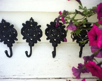 Wall Hook, Shabby Chic Wall Decor, HarDWAre IS inCLUded