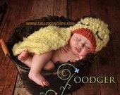 Fuzzy Duckling Cuddle Critter Cape Newborn Photography Prop -