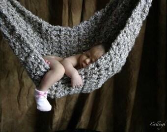 Hammock- Newborn Photo Prop - Shale