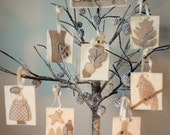 Woodland Christmas, A Pattern To Make 8 Christmas Ornaments
