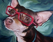Pet Portrait - Custom Oil Painting