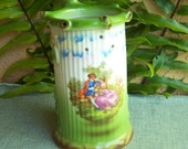 RESERVE FOR NANCY Bavarian Puzzle Jug w Courting Scene