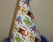 Boys 1st Birthday Hat - Robot