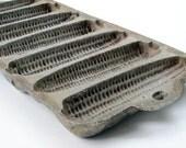 Vintage Cornbread Mold Cast Iron Corn Cob Shape