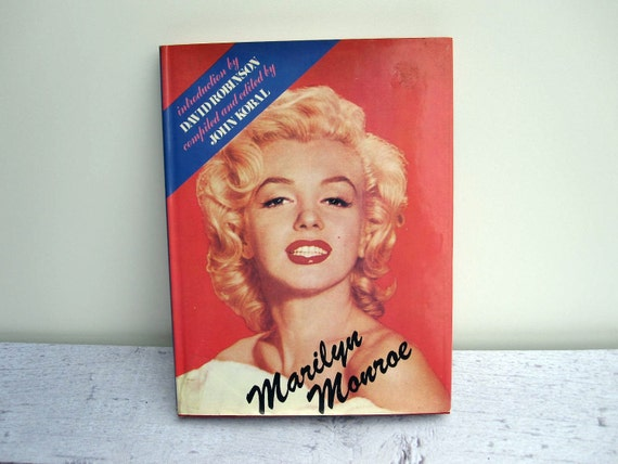 For Him - Pinup Book Marilyn Monroe A Life on Film - For Fathers Day - Hollywood Movie Book for Dad - Coffee Table Book