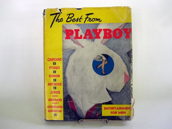 For Him - Best From Playboy First Edition 1954 - PinUp Book - Mid Century Adult Erotica