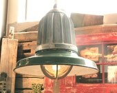 Vintage Industrial Lights from Warehouse, Gymnasium, Factory, Commercial Building