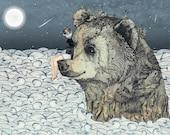 Bear Rock  // A5 Print 5x8