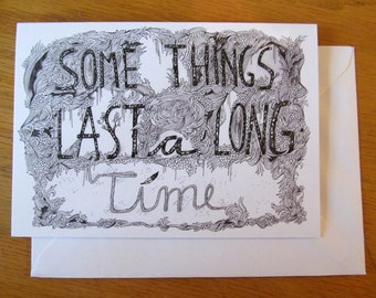 Some Things // Greeting Card