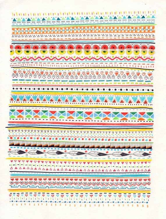 Pattern No.2 // A4 print