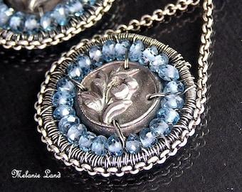 LAKESIDE--London Blue Topaz Sterling Silver Earrings
