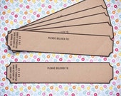 Kraft Envelope Wraps - Set of 30 - Self Stick
