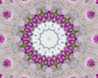 Rose Quartz - 12x12 inch print