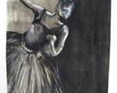 Ballerina monoprint, (2 of 4)
