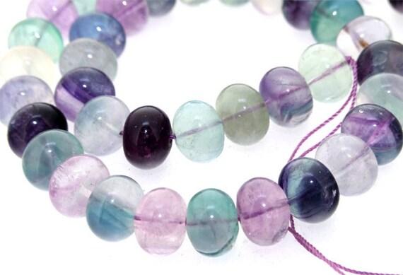 for tin arce  11strands Rainbow 12mm Fluorite Crystal Quartz Gemstone Beads One Strand