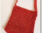 Crochet Tote Bag (Pyramid Safari Bag) Instant Download