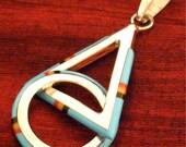 Triangle - Circle Silver Pendant SPD-10