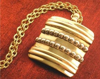 SALE - Bronze Handcrafted Jewelry - Unique Handmade Necklace NK-5