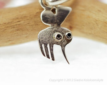 MOSQUITO Pendant Sterling Silver Mini Zoo series