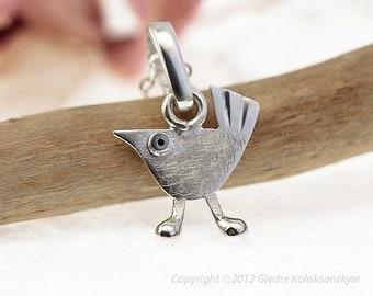 BIRD Pendant Sterling Silver Mini Zoo series
