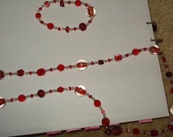 Red & Rose Set