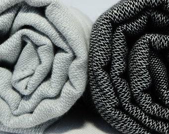 sale 50% off, gray and black peshtemals, turkish towel, bath towel, father's day, for dad, beach wedding, hamam towel, destination wedding