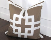 City Grid 24x24inch decorative pillow cover