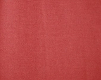 Broadcloth Cotton for Quilting Sewing Solid Rust Color Fabric