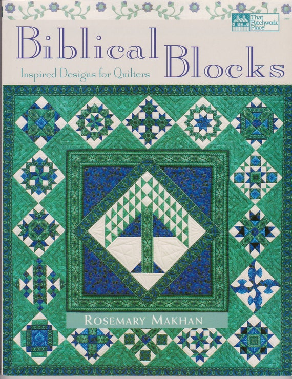 Quilting Sewing Pattern Book Biblical Themes Blocks 2001