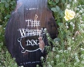 The Witch's Inn Sign Plaque