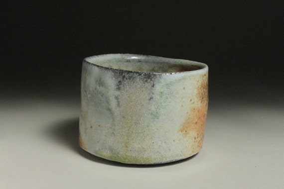 Naborigama wood fired tea bowl 2