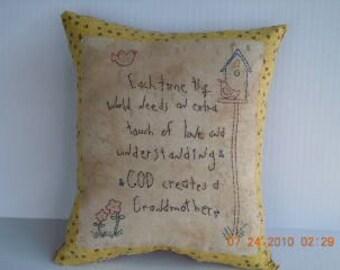 Primitive pillow, FAAP