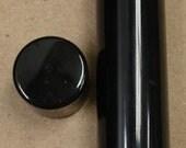 8,000 Empty New Black Round Lip Balm Tubes With Caps .15 oz WHOLESALE