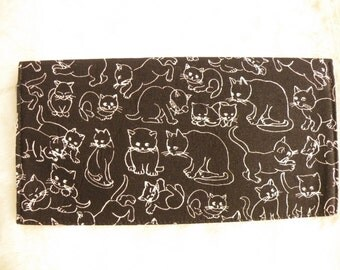 Cat Lovers Checkbook Cover