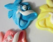 10 Fish Soap - kids party favor, fish birthday favor