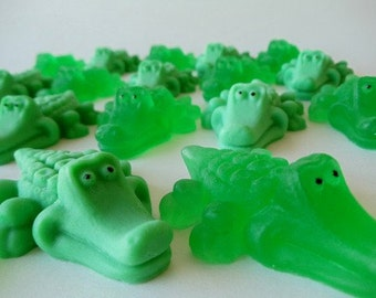 12 Alligator Soap - baby shower favor, party favor