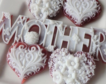 Mother and Heart Soap - hostess gift, gifts for her