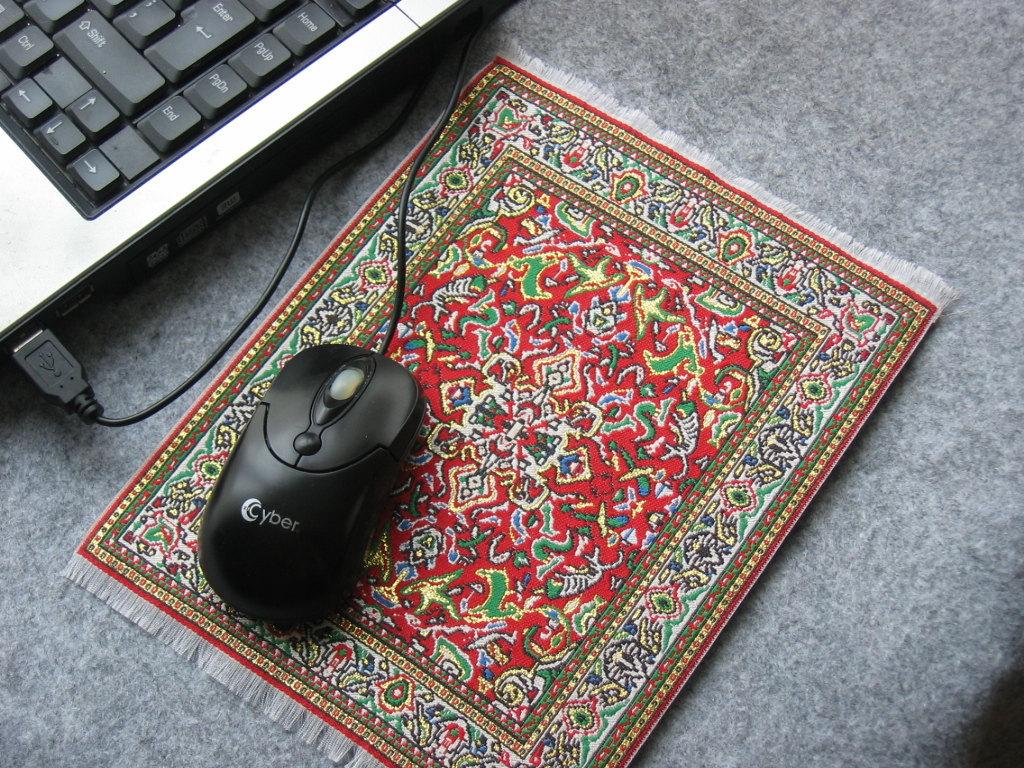 MOUSE PAD Persian rug design mini carpet