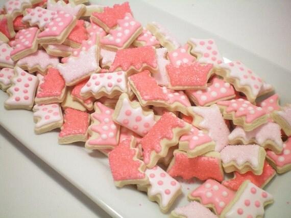 Mini Princess Crown cookies