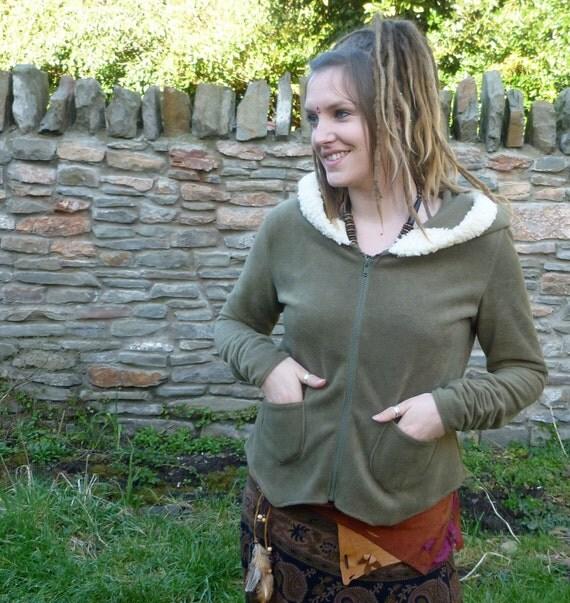 Winter Woodland Hooded Fleece Jacket