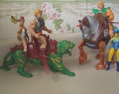 REDUCED/MASTERS OF THE UNIVERSE DOLLS AND ANIMALS, 1981-83