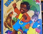 MY FAVORITE STORY BOOK, BLACK SAMBO, ETHEL HAYS ILLUSTRATOR, 1942,HARDCOVER