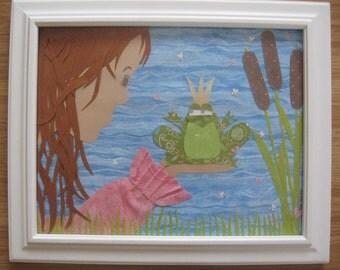 Princess and the Frog - framed artwork