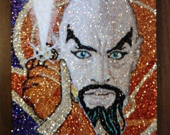MING the merciless - glitter art 9x12