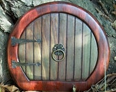 Hobbit Styled Fairy\/Faerie Door (Also suitable for Elves, Gnomes, Sprites and other Wee Folk)