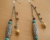 Indian Charm Dangle Earrings