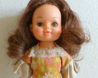 Vintage Beautiful Plastic Doll