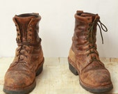 sz 10.5 ON SALE red wing logger boots