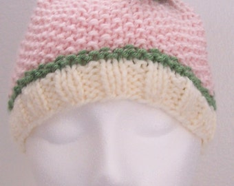 Knit Sack Hat